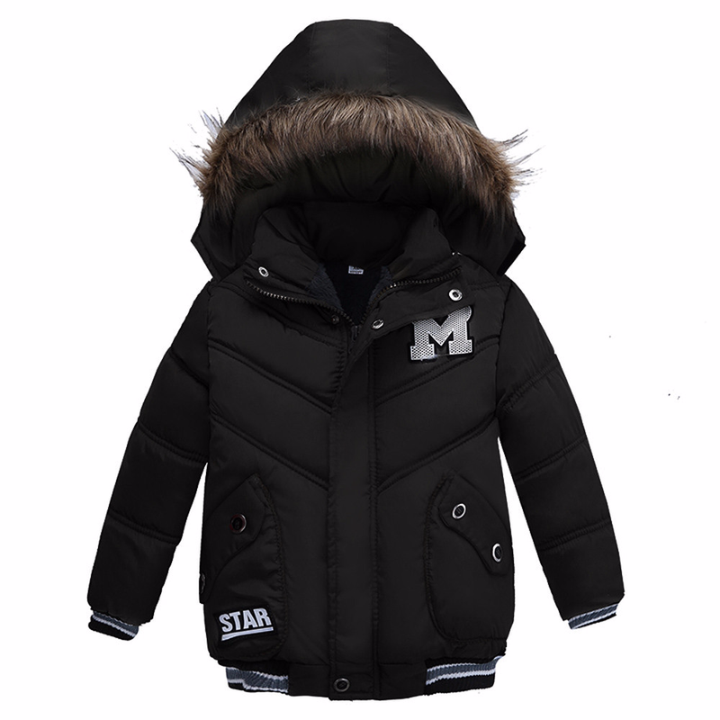 Baby Winter Coat 2018 New Kids Warm Winter Cotton Padded Jackets Children Outerwear Hooded Fashion Down Jackets for Boys Girls стоимость
