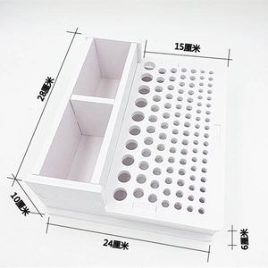Image 3 - Diy 手縫製レザー含む pidiao パンチ彫刻レザークラフトスタンプワーキングハメセットクラフトツールホルダー