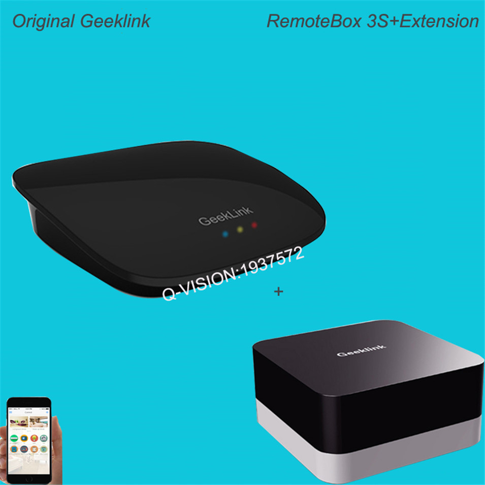 Geeklink Remotebox 3S Smart Universal Wireless Control 8-15M Realtime Feedback WIFI+IR+RF AndroidIOS Home Automation 315 433Mhz-4