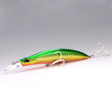 115mm 27g Fishing Lures Sinking Minnow Long Casting Baits Artificial Sea Bass Salt  Water Fishing Lures China SFT Glow Lures