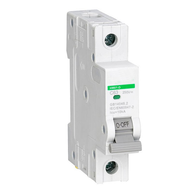 все цены на 1P 250V DC Miniature circuit breaker non polarized circuit breaker with TUV certificate 6A 3A 4A онлайн