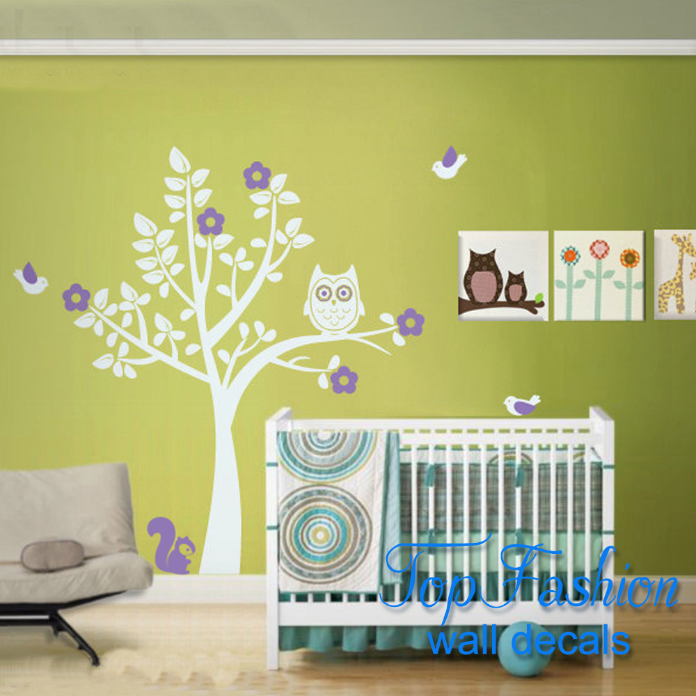 Contemporary Owl Wall Decor For Nursery Images - Wall Art ...
