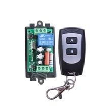 AC 220 В 1CH 10A беспроводной Дистанционное управление реле выход радио модуль приемника + черный/белый водостойкий передатчик