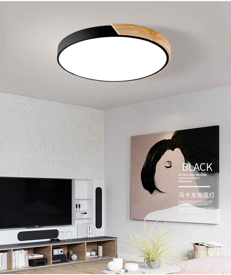 Enthusiastic Ultrathin Led Ceiling Light Modern Panel Lamp Lighting Fixture Living Room Bedroom Kitchen Surface Mount Flush Remote Control Ceiling Lights Back To Search Resultslights & Lighting
