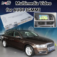 Multimedia Video Interface with Built-in  Navigation support Rear Camera, DVD, TV for 2009-2015 AUDI A6L/A8L/Q7/A4L/A5/S5/Q3/A1