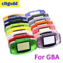cltgxdd Full Parts Replacement Housing Shell Pack For Nintendo Game Boy GBA Clear Blue Game Console shell casing стоимость