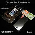 Protector de pantalla de vidrio templado para el iphone 4s vidrio templado protector para iphone 4 pelicula de vidro