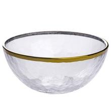 Nueva mano-cristal vajilla de vidrio transparente de placa de cena de  cocina mesa de 2e9f77a055dd