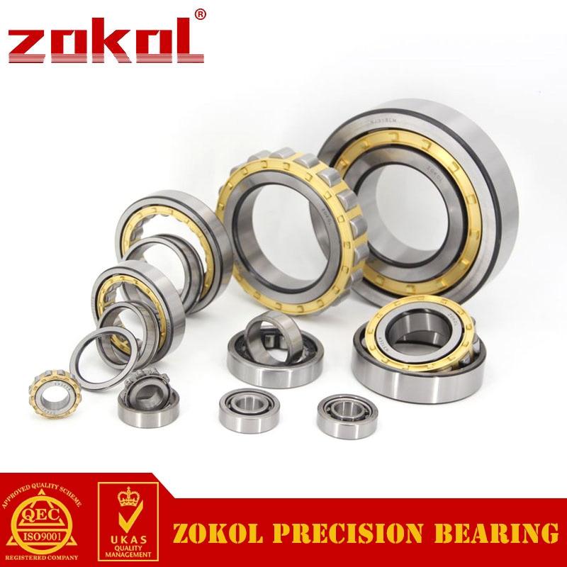 ZOKOL bearing NU220EM 32220EH Cylindrical roller bearing 100*180*34mm недорго, оригинальная цена