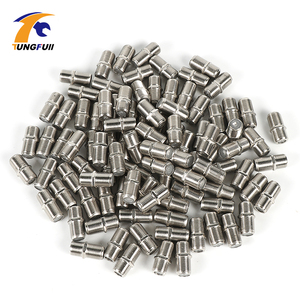 Tungfull New & Practical 100 Pcs F Type UHF Coupler Adapter Connector Female F F Jack RG6 RG59 Coaxial Cable For TV Network(China)