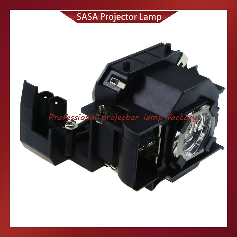 Replacement Projector Lamp With Housing ELPLP33 / V13H010L33 For EPSON EMP-TW20/EMP-TWD1/EMP-S3/EMP-TWD3/EMP-TW20H/EMP-S3L elplp38 v13h010l38 high quality projector lamp with housing for epson emp 1700 emp 1705 emp 1707 emp 1710 emp 1715 emp 1717