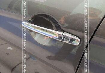Absクロームサイドドアハンドルカバートリム用三菱asx rvrアウトランダースポーツ2013-2015