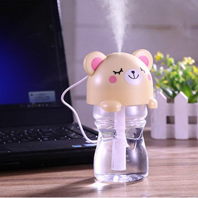 USB Mini Cartoon Air Fresheners Ultrasonic Aroma Diffuser Air Purifier For home & Office VBZ75 T17 0.5
