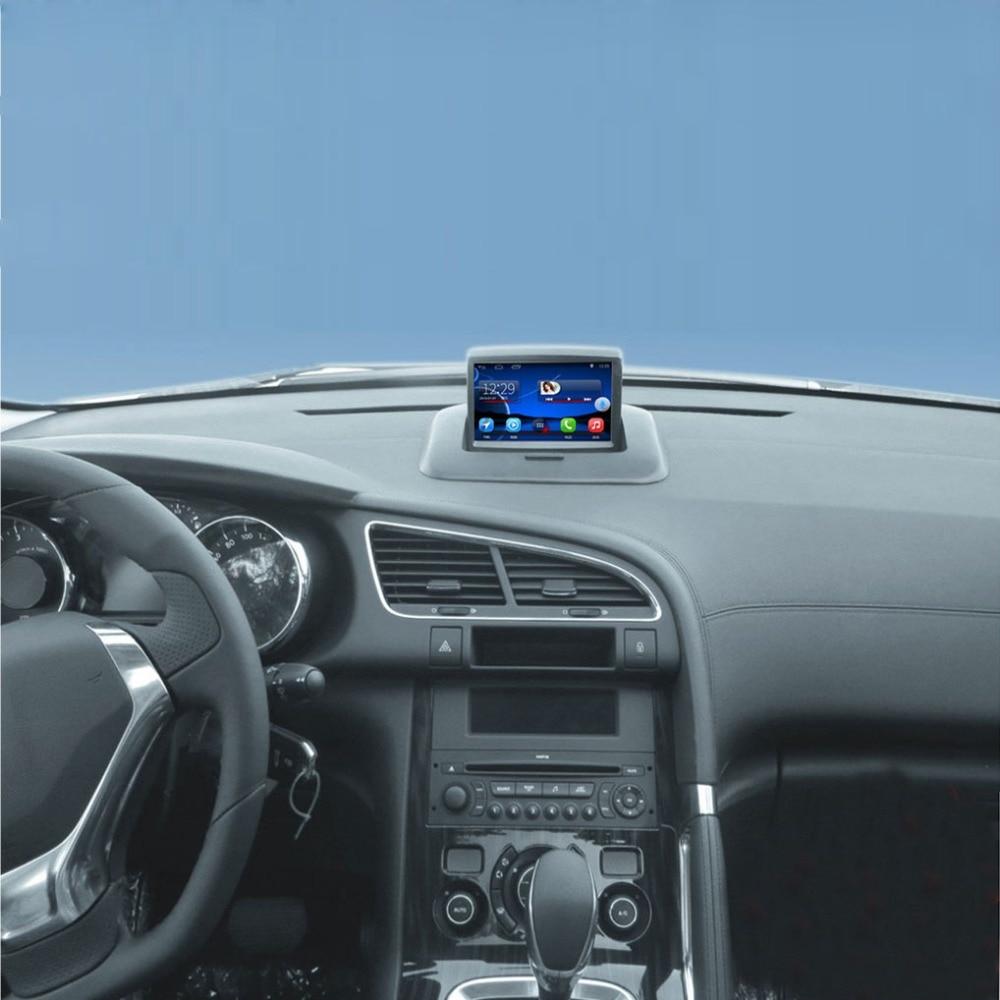 Android 7.1 a amélioré le costume Original de lecteur d'autoradio au lecteur vidéo de voiture de Peugeot 3008 construit dans la Navigation Bluetooth de GPS de WiFi