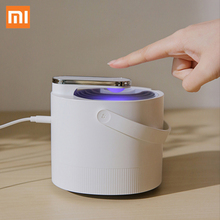 Original Xiaomi Mijia Mosquito Killer Lamp USB Electric Photocatalyst Mosquito Repellent Insect Killer Lamp Trap UV smart Light original xiaomi mijia movable portable mosquito repellent killer timing no heating fan drive with led light use 90 day