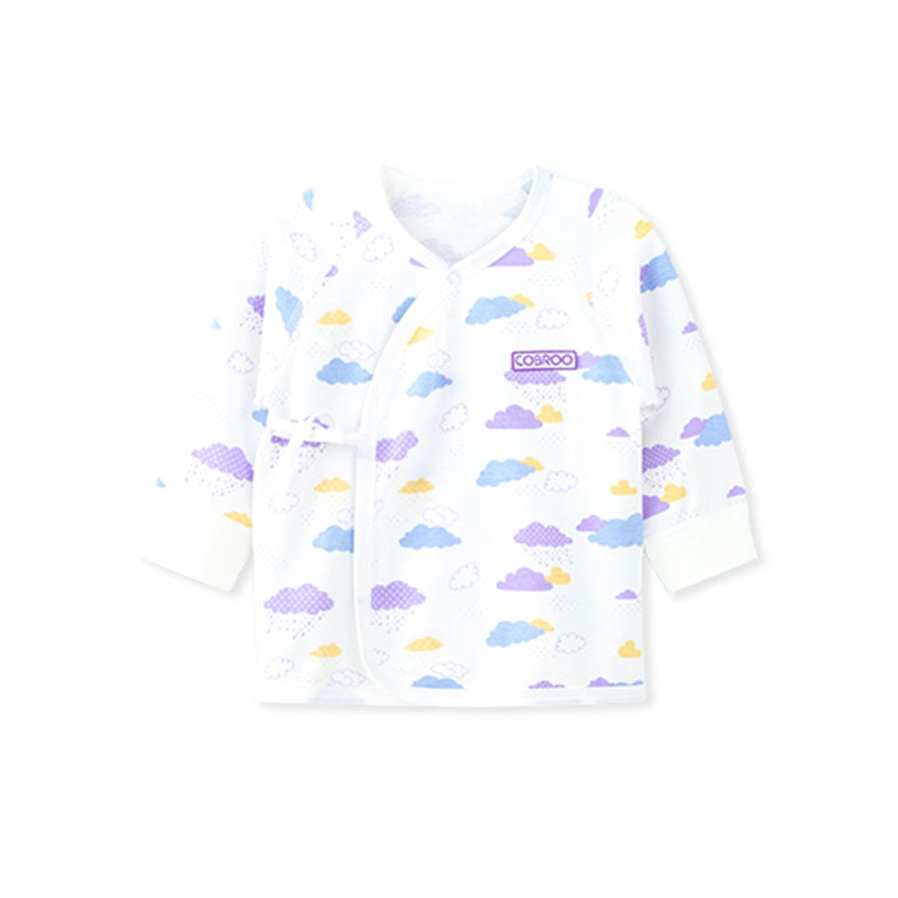 COBROO Baby Girl Boy Clothing Set with Clouds Pattern Pants Long Sleeves Tops 2 Piece Set 100 Cotton 0 3 6 Months in Clothing Sets from Mother Kids