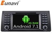 Eunavi Quad Core 1 Din Android 7 1 Car DVD Player Car Radio Car GPS Car