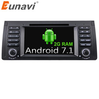 Eunavi Quad Core 1 Din Android 7 1 Car DVD Player Car Radio Car GPS Car