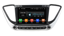 9″ Octa Core  Android 8.0 Car GPS radio Navigation for Hyundai Verna Accent Solaris 2018 with 4G/Wifi DVR OBD mirror link