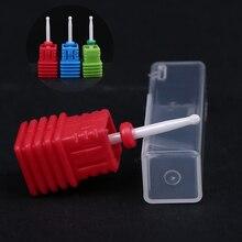 2PCS /Lot Small Ceramic Drill Bits Nail Art Drill Bit 2.35 3/32 Toolkit