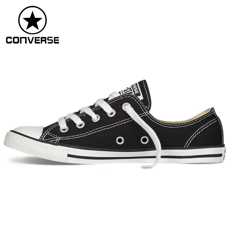 Original New Arrival  Converse Dainty Women's Skateboarding Shoes Canvas Sneakers euroschirm dainty black