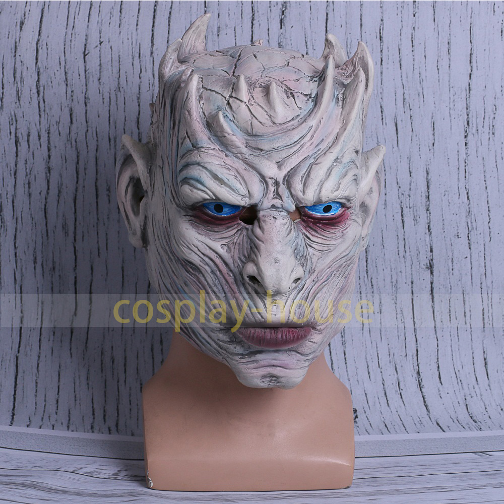 Cosplay Mask Game of Thrones Masks Night's King Walker Face NIGHT RE Zombie Halloween Mask For Adults Throne Costume Party