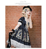 Split Love Dress Lolita Sweet Princess Dress