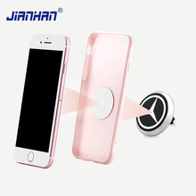 JianHan Magnetic Phone Holder Universal Car Air Vent Phone Stand Mobile Phone Car Mount For iPhone Samsung Galaxy Huawei Xiaomi