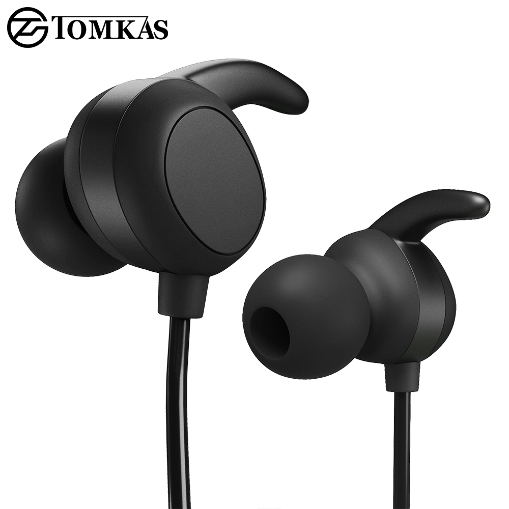 все цены на TOMKAS Wireless Bluetooth Earphone For Phone with Microphone Sport Headset Bluetooth Headphone For iPhone Bluetooth Headphones онлайн