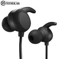 TOMKAS Wireless Bluetooth Earphone For Phone With Microphone Sport Headset Bluetooth Headphone For IPhone Bluetooth Headphones