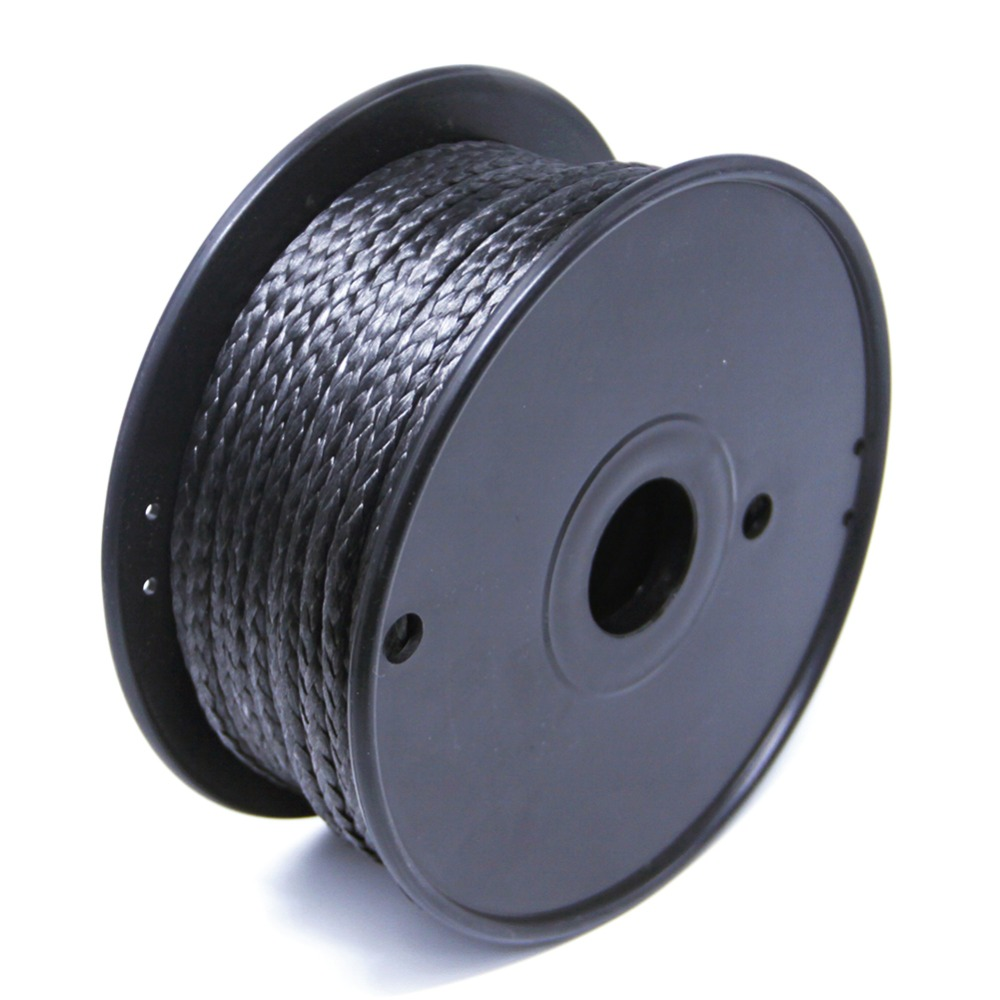 6mm 7900lbs Fishing Braided Line 15M Uhmwpe Outdoor Camping Hiking Cord Winch Rope For Hauling Pulling Boating Towing free shipping 500m 4250lb sailboat rope extreme strong 4 5mm uhmwpe braided wire
