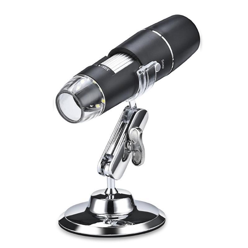 1000X8 LED Microscope numérique Wifi Microscope loupe USB Inspection iPhone iPad Microscop numérique avec support pour Android IOS