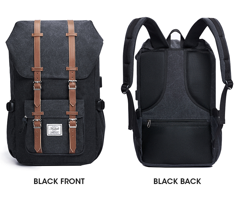 KALIDI - Laptop Backpack with Leather Finish for Travel