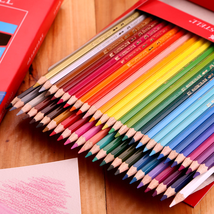 faber castell 48 colors oil colored pencil high quality