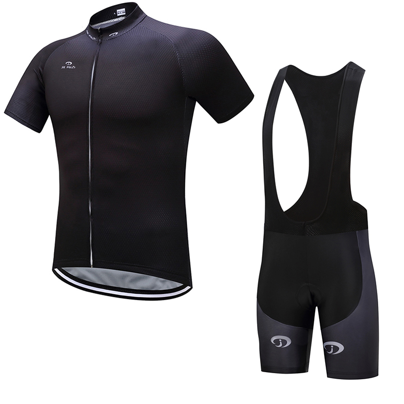 Jiepolly Cycling Clothing Sets Pro Team Jersey Short Sleeves Suit Bike Bicycle Shirt Ropa Ciclismo MTB Gel Breathable Pants Men ciclismo cycling sets men pro team mtb mountain bike cycling clothing short sleeved bicycle jersey gel pad padded ropa ciclismo