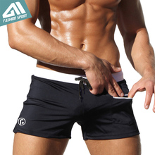 Aimpact 2016 New Males's Swimwear Browsing Males Swimming Shorts Large & Tall Plus Measurement Males Beachwear Swimsuit Widespread Swim Quick AQ02