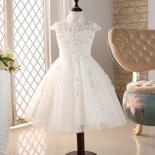 Платья для девочек с цветами, вечерние бальные платья для выпускного вечера, платье принцессы с бусинами для девочек, вечерние платья на день рождения для взрослых