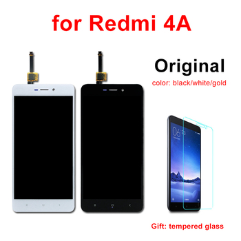 מקורי LCD עבור Redmi 4A LCD תצוגה עם מסגרת מסך מגע Digitizer עצרת החלפת חלק עבור Xiaomi Redmi 4A LCD מסך