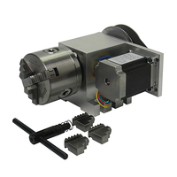 Mini lathe 3 Jaw 80mm chuck CNC 4th rotary Axis 5M 6 80A CNC dividing head