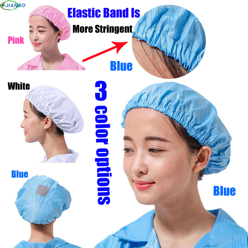 Factory Outlet Anti-Static Dust Cap Safety Helmet noenname_null Clean Room Clean And White Hats Caps Women capacete Food Caps sensory scout