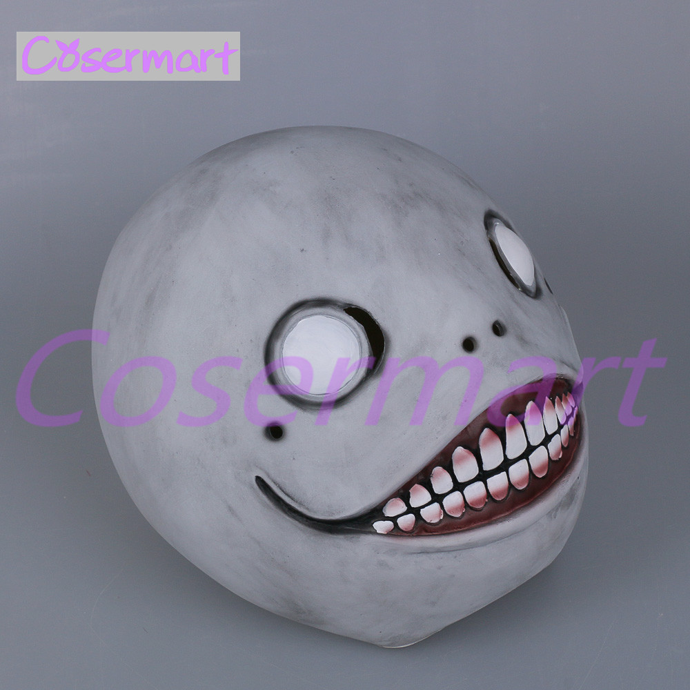Cos Hot Game NieR Automata Masks Cosplay Emil Mask Helmet 11 Latex Halloween Party (9)