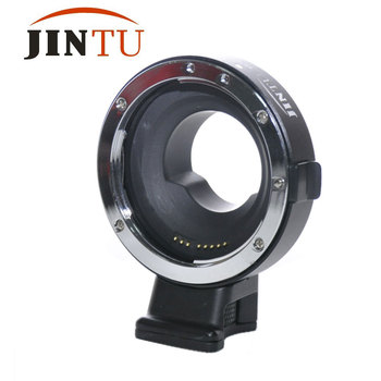 Jintu Metal Auto Focus AF Lens Mount Adapter EF-M4/3 For Canon EOS EF/EF-S To Micro M4/3 Panasonic Olympus Camera Factory Price