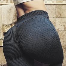 Ruching push up legginsy dla fitness Odzież 2018 Kulturystyka sexy Legging Sportswear Athleisure czarne spodnie damskie tanie tanio Kobiet Dziane Poliester spandex Drukowania 0604 M² Połowie Długość kostki S-QVSIA Casual Cienkie