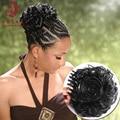 Женщины Коготь Волос Шиньон Оголовье Парики Зажим Булочки Прически Вьющиеся Синтетический Волос Косплей Аксессуары Инструменты Для Укладки 610