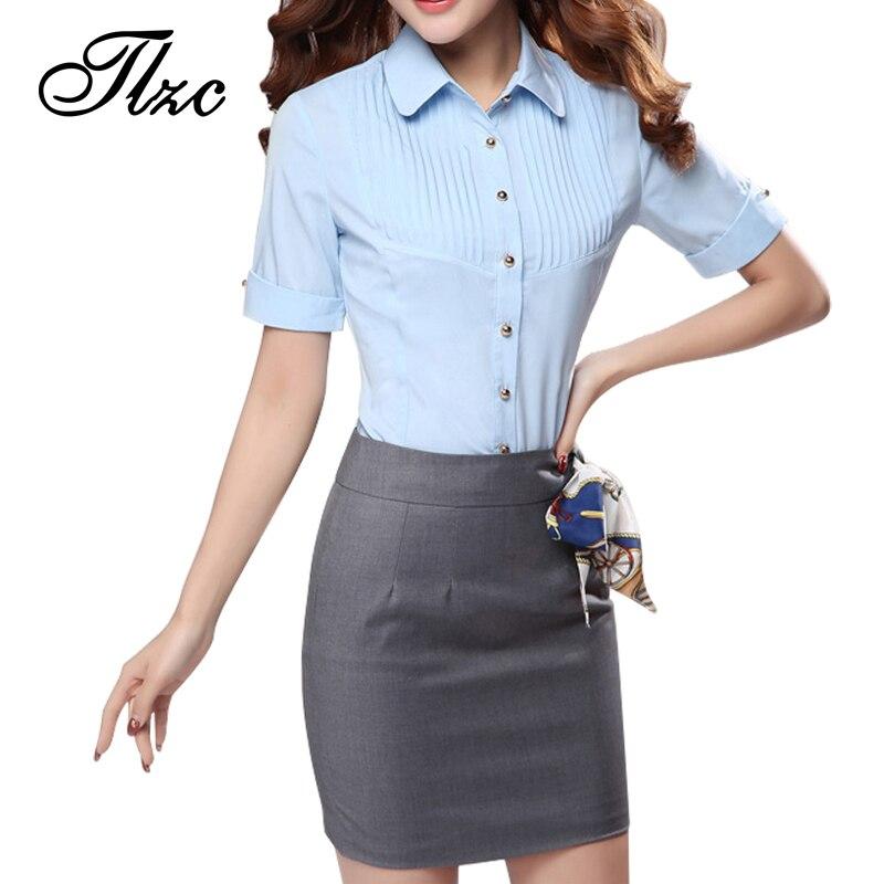 Popular Formal Shirt and Skirt Set Women-Buy Cheap Formal Shirt ...