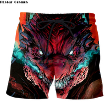 New fashion Men's Casual Shorts Summer Men Beach Shorts 3D Print Men's Boardshorts Trousers hot style Quick Dry -2