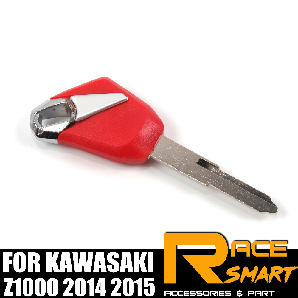 Motorcycle Uncut Blank Key For KAWASAKI Z-1000 Z 1000 Blade Keys Z1000 2014 2015