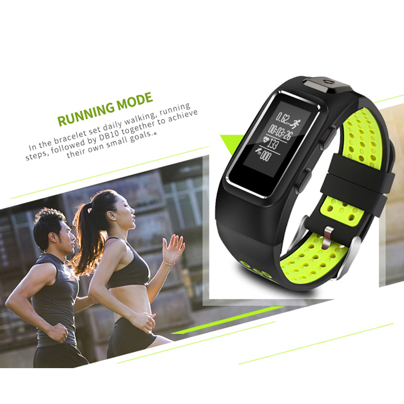 In Stock XGODY DB10 Sports Bracelet Fitness Tracker for iOS Android Pedometer Heart Rate Monitor Smart Band Wristband Waterproof