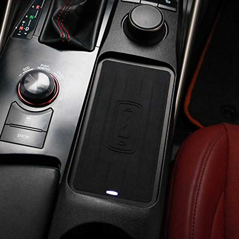Автомобильный Qi беспроводной телефон зарядный коврик модуль для Lexus Is300 2015-2019 Быстрая зарядка чехол пластина автомобильный подлокотник коробка аксессуары