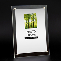 SaiDeKe Acrylic Photo Frame 6inch 7 Inch Picture Frame Wedding Photo Decorative Of Certificate For Home